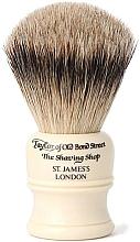 Парфюмерия и Козметика Четка за бръснене, SH1 - Taylor of Old Bond Street Shaving Brush Super Badger size S