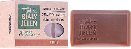 Дерматологичен сапун с ихтиол - Bialy Jelen Apteka Alergika Soap