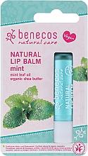Парфюмерия и Козметика Балсам за устни с ментол - Benecos Natural Care Lip Balm Mint