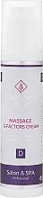 Парфюмерия и Козметика Масажен крем за лице - Charmine Rose Massage G-Factors Cream