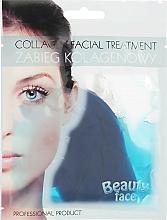 Парфюмерия и Козметика Колагенова терапия за лице с морски водорасли - Beauty Face Collagen Hydrogel Mask