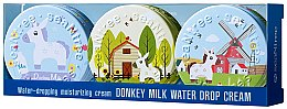 Парфюми, Парфюмерия, козметика Кремове за лице с магарешко мляко - SeaNtree Donkey Milk Water Drop Set 7 (face/cr/3x35g)