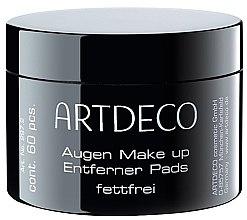 Парфюми, Парфюмерия, козметика Памучни тампони за премахване на грим - Artdeco Eye Makeup Remover Pads Non Oily