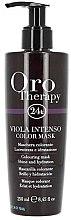 Парфюмерия и Козметика Интензивна тонираща маска за коса - Fanola Oro Therapy Viola Intenso Color Mask