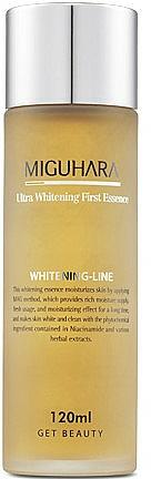 Изсветляваща есенция за лице - Miguhara Ultra Whitening First Essence