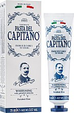 Парфюмерия и Козметика Избелваща паста за зъби - Pasta Del Capitano Whitening Toothpaste