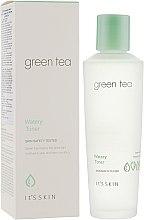 Парфюмерия и Козметика Тоник за лице - It's Skin Green Tea Watery Toner