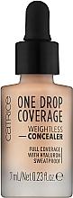 Парфюмерия и Козметика Коректор за лице - Catrice One Drop Coverage Weightless Concealer