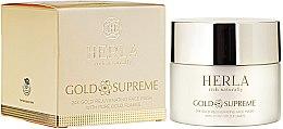 Парфюми, Парфюмерия, козметика Маска за лице - Herla Gold Supreme 24K Gold Rejuvenating Face Mask With Pure Gold Flakes