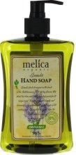 Парфюмерия и Козметика Течен сапун с аромат на лавандула - Melica Organic Lavander Liquid Soap