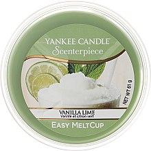 Парфюми, Парфюмерия, козметика Ароматен восък - Yankee Candle Vanilla Lime Melt Cup