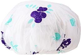 Парфюмерия и Козметика Шапка за баня, 9298, лилаво-бяла - Donegal Shower Cap