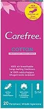 Парфюмерия и Козметика Ежедневни дамски превръзки, ароматизирани, 20 бр - Carefree Cotton Fresh Scent