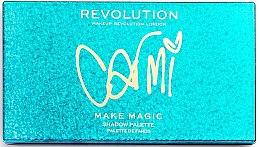 Палитра сенки за очи - Makeup Revolution X Carmi Make Magic Eyeshadow Palette — снимка N2