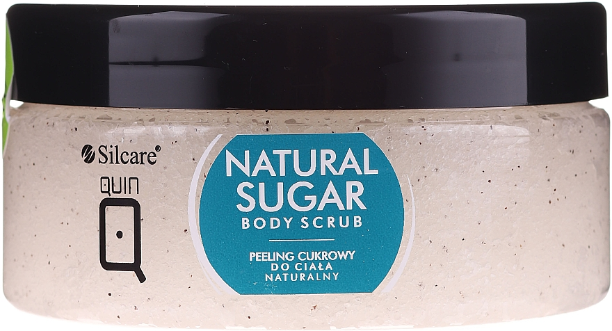 Натурален захарен скраб за тяло - Silcare Quin Natural Sugar Body Scrub