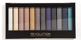 Парфюми, Парфюмерия, козметика Палитра сенки за очи, 12 цвята - Makeup Revolution Redemption Palette Day to Night