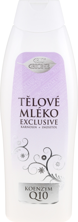 Лосион за тяло - Bione Cosmetics Exclusive Organic Body Lotion With Q10