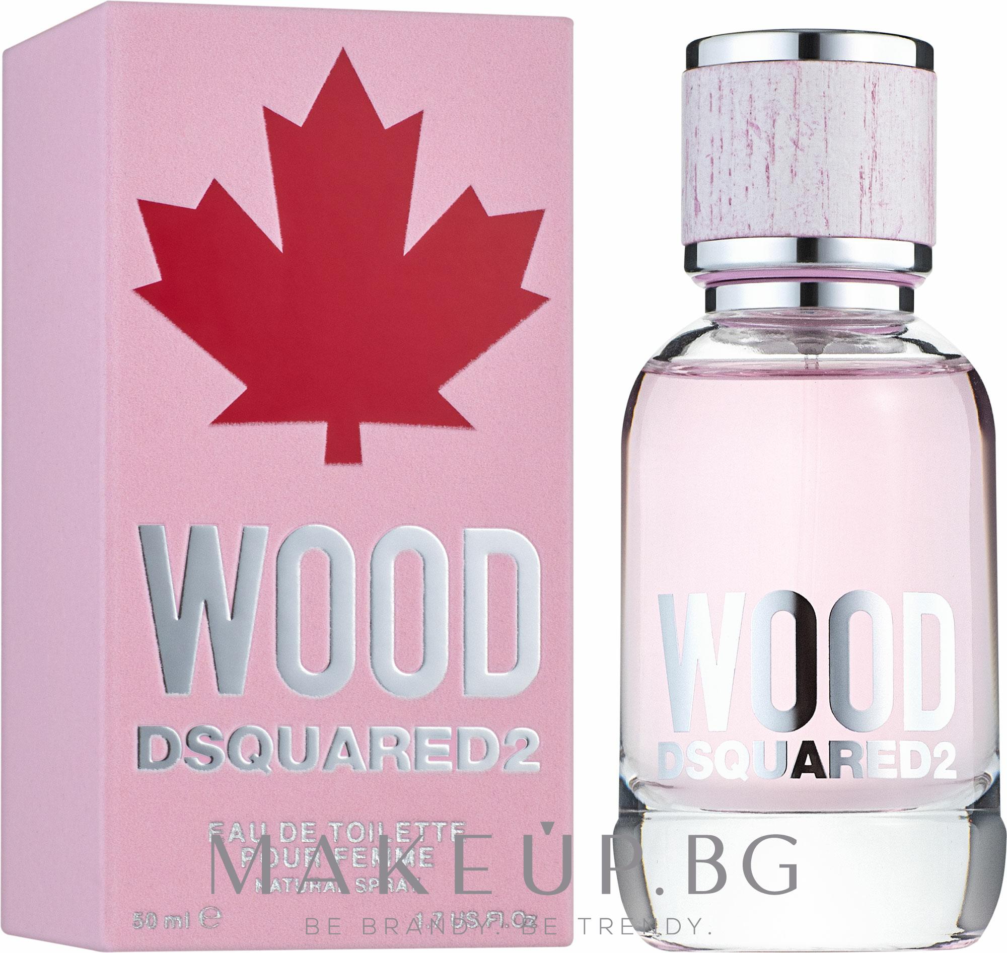 Dsquared2 Wood Pour Femme - Тоалетна вода — снимка 50 ml