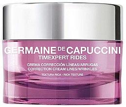 Парфюми, Парфюмерия, козметика Наситен коригиращ крем за лице - Germaine de Capuccini Timexpert Rides Correction Cream Lines & Wrinkles