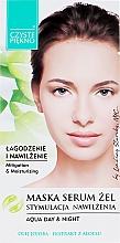 Парфюмерия и Козметика Маска-серум за лице с алое - Czyste Piekno Face Mask Serum Gel