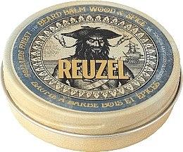 Парфюмерия и Козметика Балсам за брада с дървесен, пикантен аромат - Reuzel Beard Balm Wood And Spice
