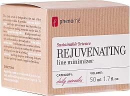 Парфюмерия и Козметика Подмладяващ крем за суха и чувствителна кожа - Phenome Sustainable Science Rejuvenating Line Minimizer