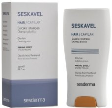 Парфюмерия и Козметика Защитен шампоан с гликолова киселина - SesDerma Laboratories Seskavel Glycolic Shampoo