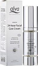 Парфюми, Парфюмерия, козметика Крем 24 часа за чувствителна кожа на лицето - Alva Sensitiv 24 Stunden Creme
