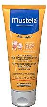 Парфюми, Парфюмерия, козметика Слънцезащитно мляко за лице и тяло - Mustela Baby Very High Protection Sun Lotion SPF 50+