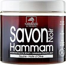 Парфюми, Парфюмерия, козметика Черен сапун с маслиново масло - Naturado Black Soap Hammam With Olive Oil
