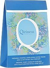Парфюми, Парфюмерия, козметика Комплект - Qiriness (scrub/20ml + steam/8g + mask/30g)
