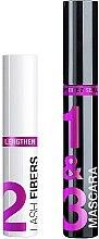Парфюми, Парфюмерия, козметика Комплект спирали за мигли - Wet N Wild Lash-O-Matic Fiber Mascara Extension Kit