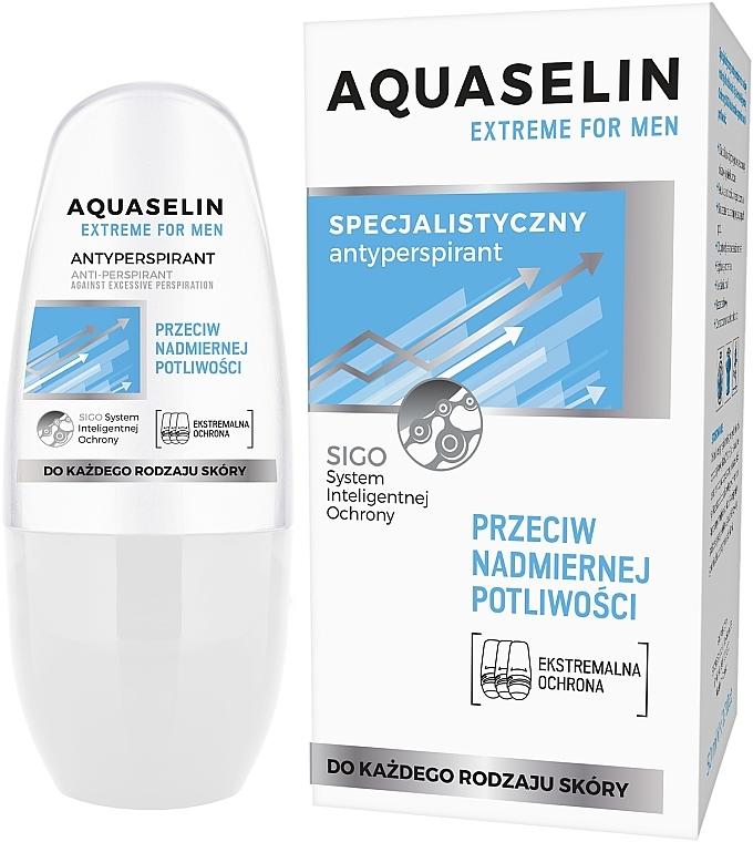 Антиперспирант за повишено изпотяване при мъже - Aquaselin Extreme For Men