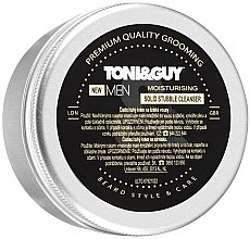 Парфюмерия и Козметика Почистващ крем за лице, мустаци и брада - Toni&Guy Moisturising Solid Stubble Cleanser