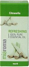 """Парфюмерия и Козметика Етерично масло """"Цитронела"""" - Holland & Barrett Miaroma Citronella Pure Essential Oil"""