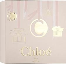 Парфюмерия и Козметика Chloe Signature - Комплект (парф. вода/75ml + лосион/100ml + парф. вода/мини/5ml)