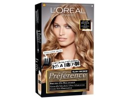 Парфюми, Парфюмерия, козметика Боя за коса - L'Oreal Paris Preference Glam Bronde (за допълнителни кичури, не за цялостно боядисване)