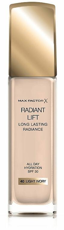 Фон дьо тен - Max Factor Radiant Lift Foundation