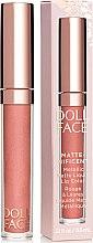 Парфюмерия и Козметика Течно матово червило за устни - Doll Face Matte Metallic Liquid Lip Color