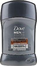 """Парфюми, Парфюмерия, козметика Стик дезодорант за мъже """"Сандалово дърво"""" - Dove Men+Care Dry Spray"""