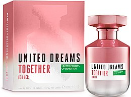 Парфюмерия и Козметика Benetton United Dreams Together For Her - Тоалетна вода