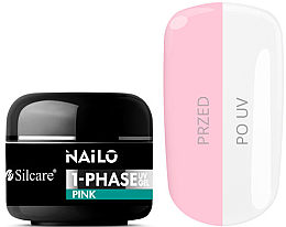Парфюмерия и Козметика Гел за нокти - Silcare Nailo 1-Phase Gel UV Pink