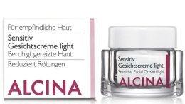 Парфюми, Парфюмерия, козметика Крем за чувствителна кожа - Alcina S Sensitive Facial Cream Light
