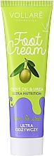 Парфюмерия и Козметика Крем за крака - Vollare Cosmetics De Luxe Ultra Nutrition Oile&Urea Foot Cream