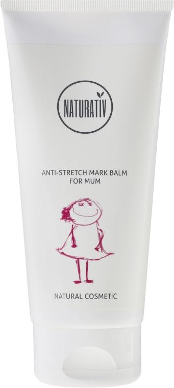 Балсам против стрии за майки - Naturativ Anti-stretch Mark Balm For Mum — снимка N1