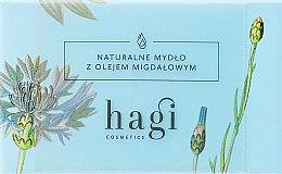 Парфюмерия и Козметика Натурален сапун с бадемово масло - Hagi Soap