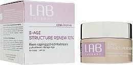 Парфюми, Парфюмерия, козметика Подмладяващ и укрепващ дневен крем за лице - Lirene Lab Therapy S-Age Structure Renew 10% SPF 20