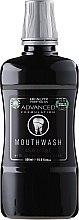 Парфюмерия и Козметика Вода за уста - Beauty Formulas Advanced Charcoal Mouthwash