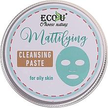 Парфюмерия и Козметика Матираща и почистваща паста за мазна кожа - ECO U Mattifying Cleansing Paste For Oily Skin