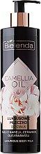 Парфюмерия и Козметика Мляко за тяло - Bielenda Camellia Oil Luxurious Body Milk
